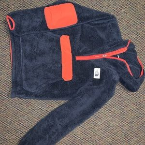 North Face Fuzzy hoodie